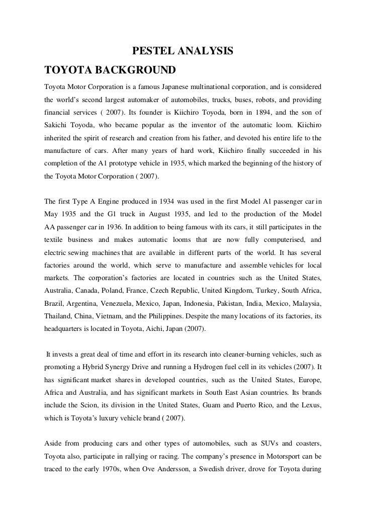 pestel analysis 3 essay Pestel analysis -asda essays: over 180,000 pestel analysis -asda essays, pestel analysis -asda term papers order plagiarism free custom written essay.