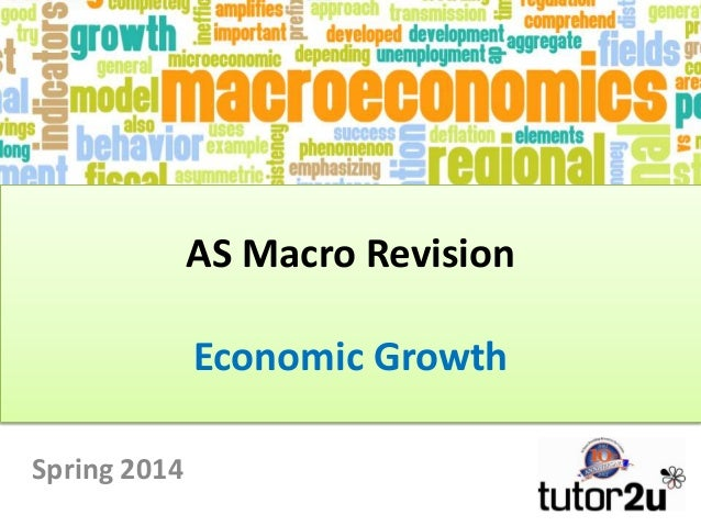 AS Macro Revision Economic Growth Spring 2014
