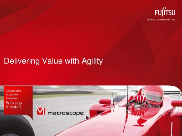 Delivering Value with Agility