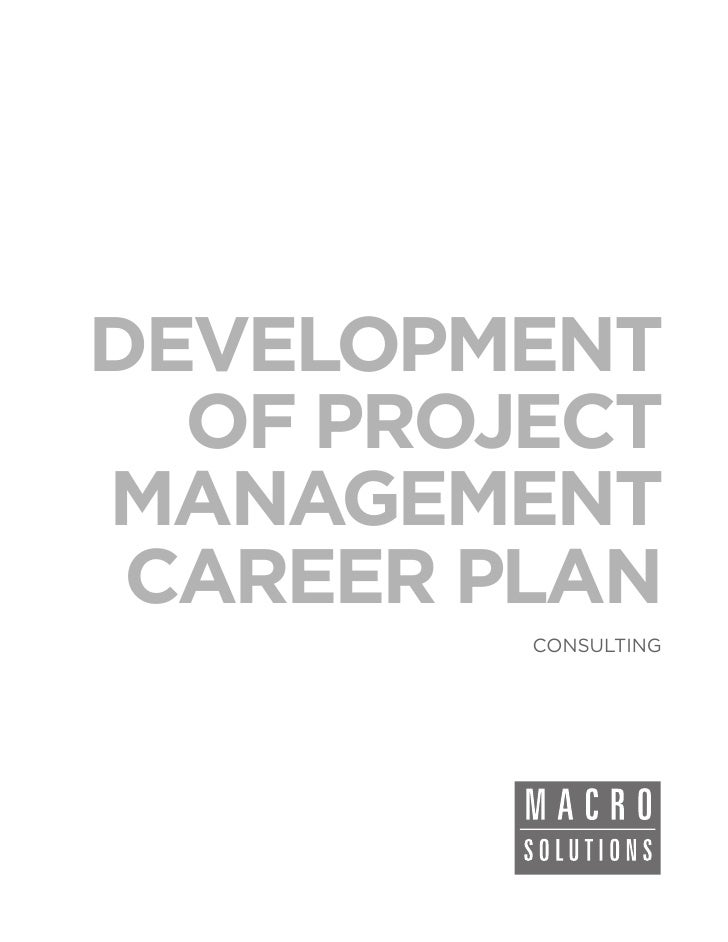 Macrosolutions Consulting Service: Development of Project Management Career Plan