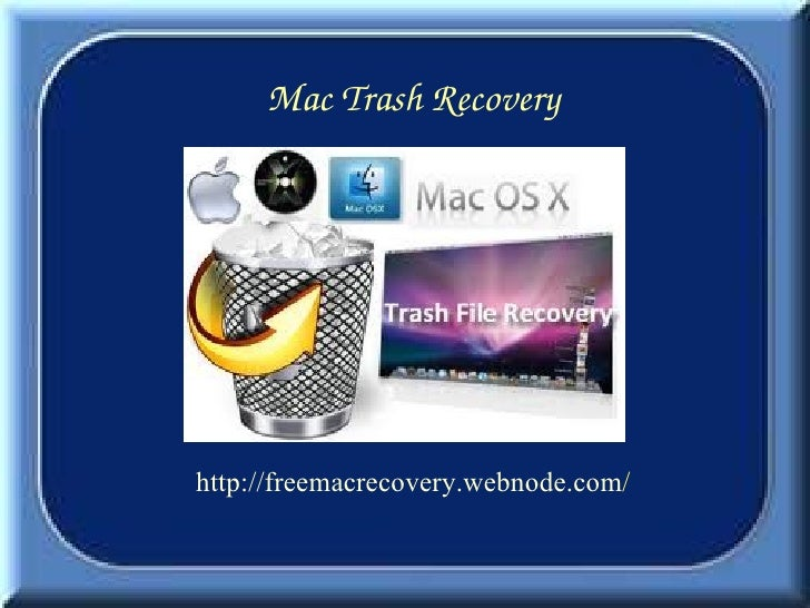 Mac Trash Recovery is Now Very Easy