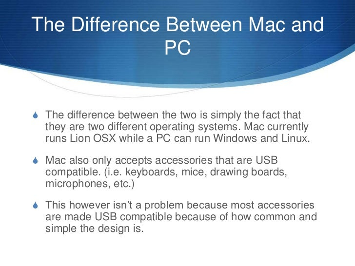 compare and contrast mac vs pc Which is the security solution from bitdefender that is right for your pc, mac or android find out more in our product comparison page  compare our award.
