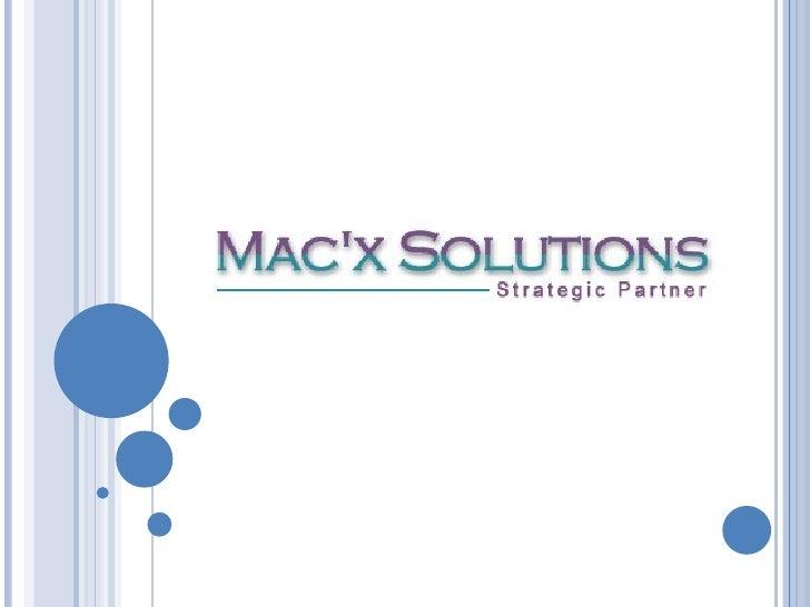 Mac'x solutions