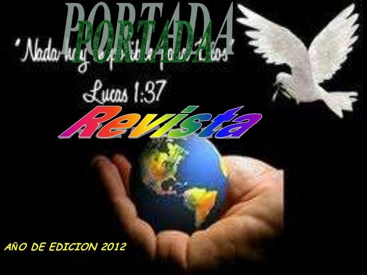 AÑO DE EDICION 2012