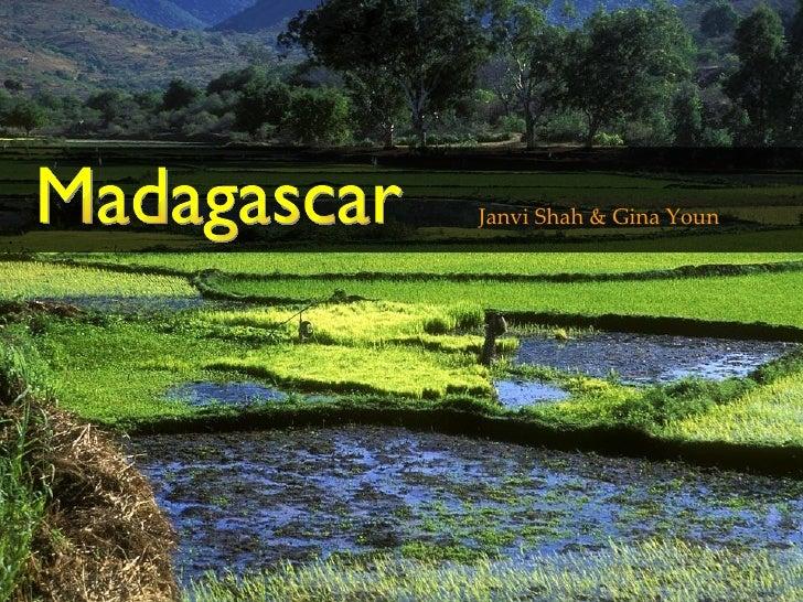 Janvi Shah & Gina Youn . Madagascar