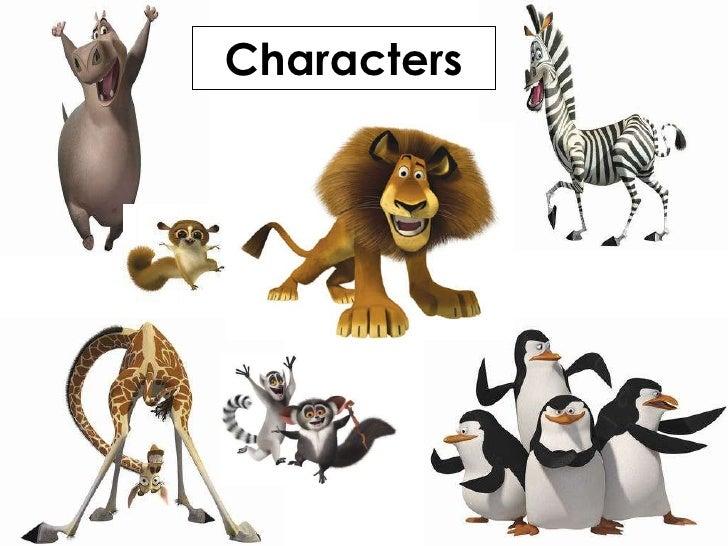 Madagascar 2 Cartoon Characters : Madagascar