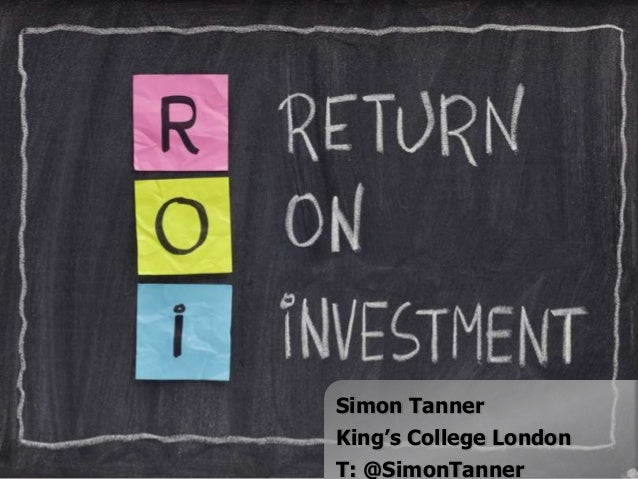 Simon TannerKing's College LondonT: @SimonTanner