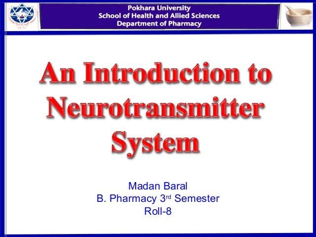 Madan Baral B. Pharmacy 3rd Semester Roll-8