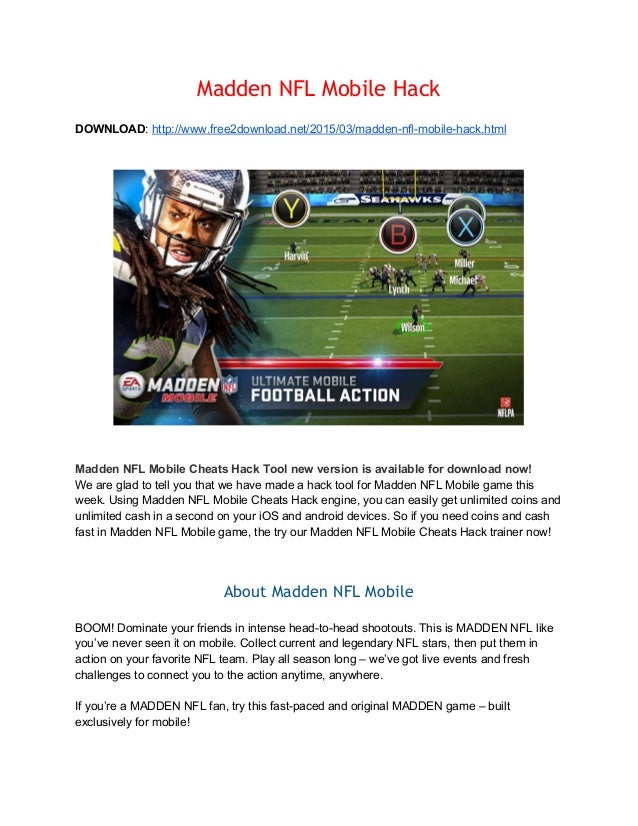 Madden NFL Mobile Hack - Cheats Palace
