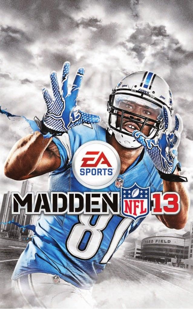 EA Sports Madden NFL 13 Game Manual