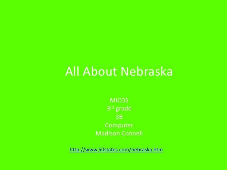 Maddy Nebraska