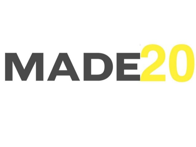 MADE20 awards