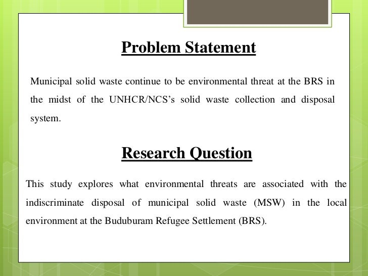 phd thesis statement of the problem Buy phd thesis/dissertation of prime the basic element of the phd proposal would be how you it would further include the 'statement of the problem'.