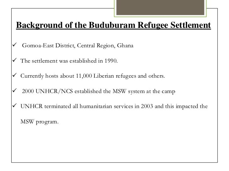 refugees research paper
