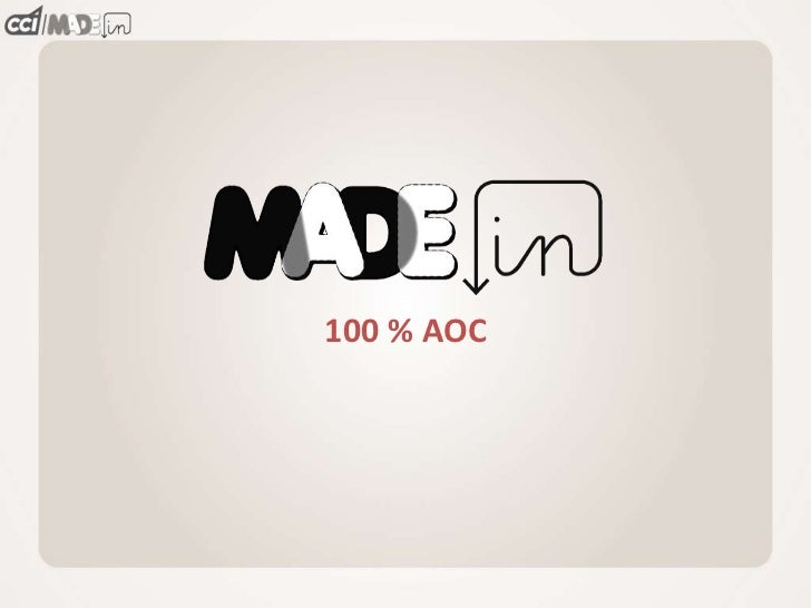 100 % AOC