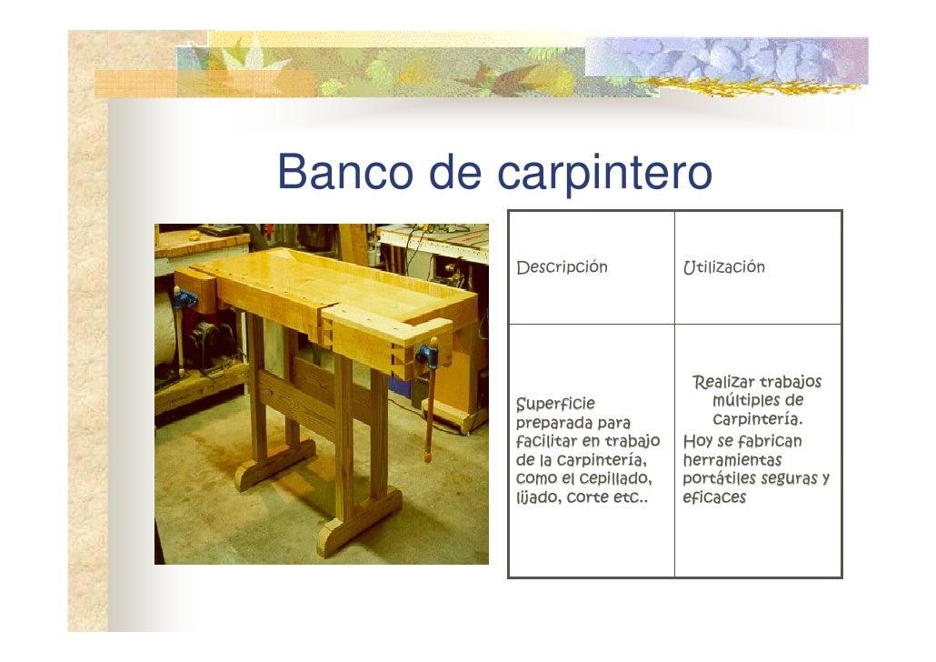 Madera - Carpintero de madera ...