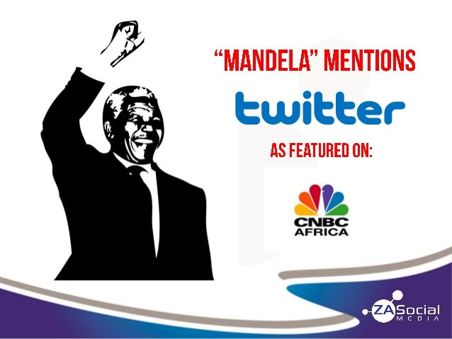 "UPDATED - ""Mandela"" Twitter Mentions"