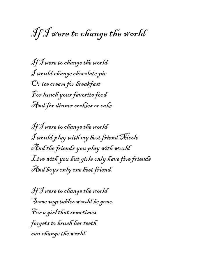 Madison's poems