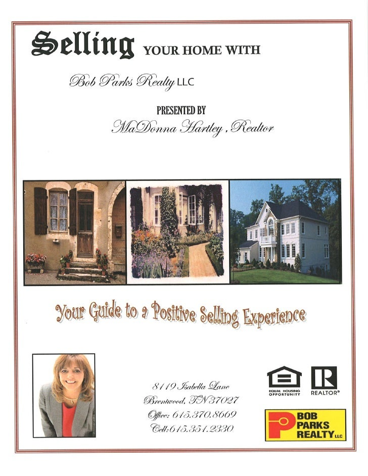 Listing your house with MaDonna Hartley