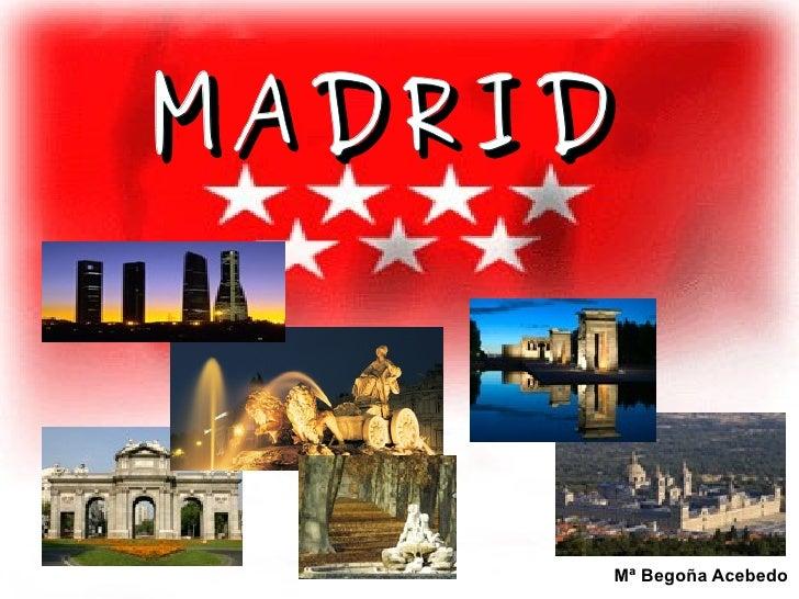 MADRID   Mª Begoña Acebedo