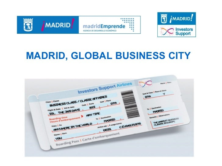 Madrid as a Global Business City