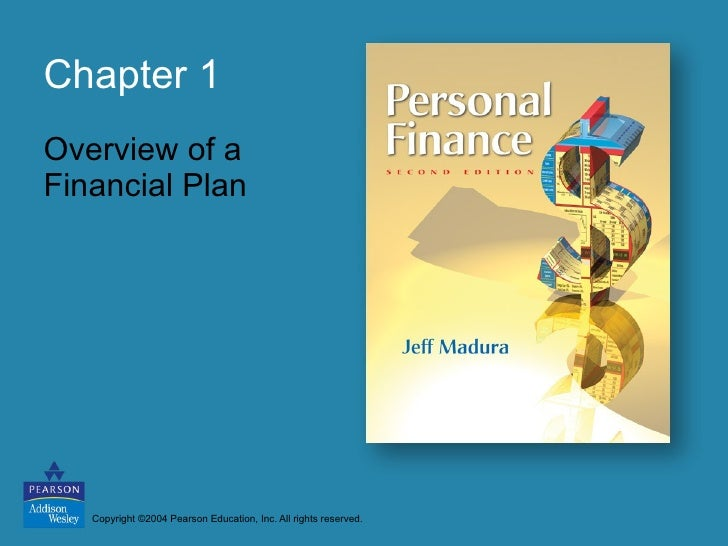 Chapter 1 Overview of a Financial Plan