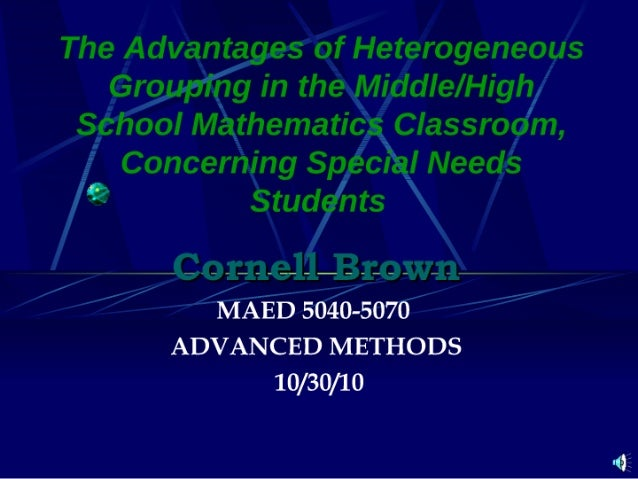 Maed 5040-5070-study of studies presentation
