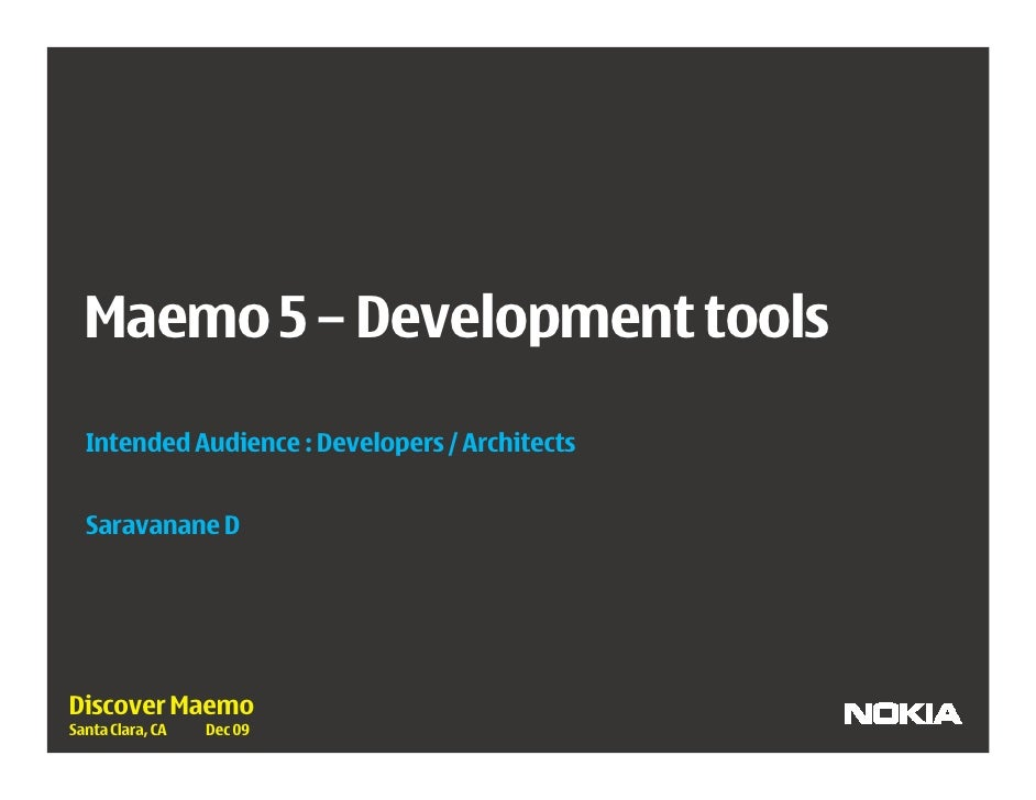 Development Tools - Overview                                         *                                            +       ...