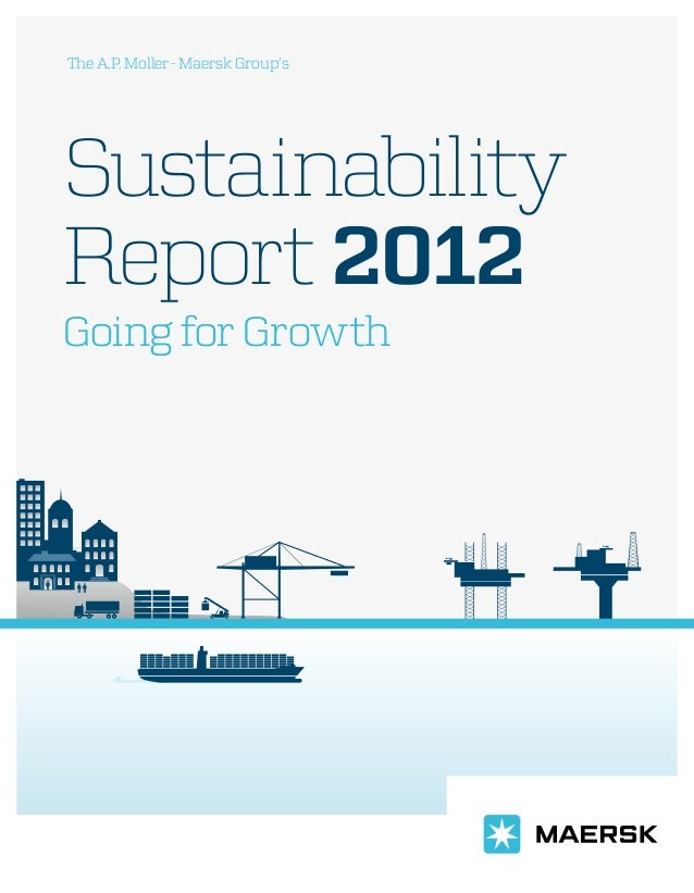 Maersk sustainability report_2012