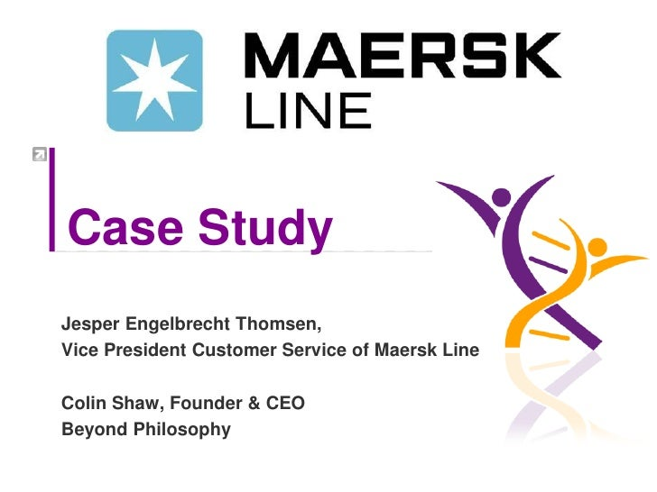 How Maersk Line improved their Net Promoter Score by 40 points   Beyond Philosophy