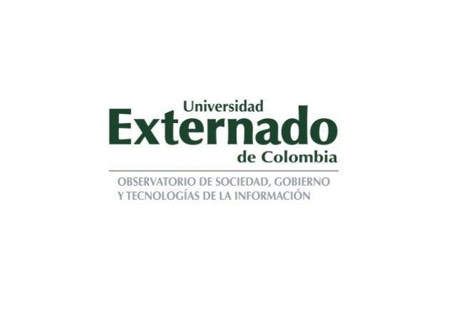 Maestría en Planeación y Gestión del Turismo   Marco Peres Módulo Ciudades Inteligentes  www.observatics.edu.co