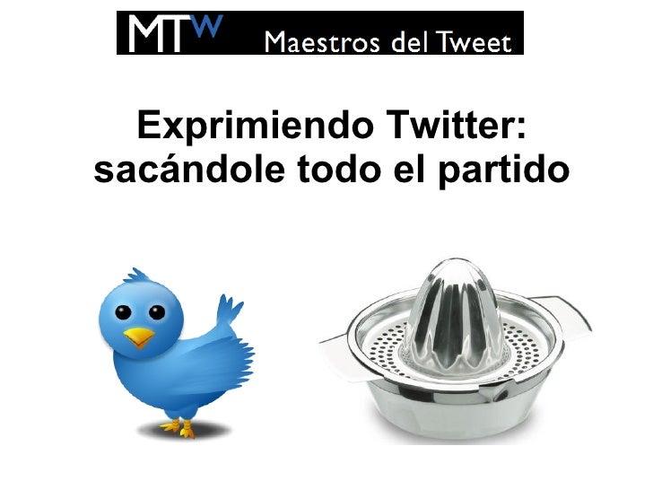 Maestros del tweet - Spa Mencey