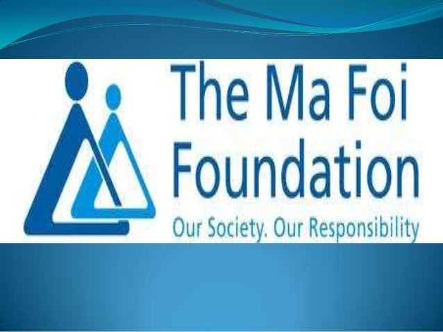 MA FOI Foundation Established in: 1992 K. Pandiarajan: founder and non executive chairman  largest HR consultancy in In...