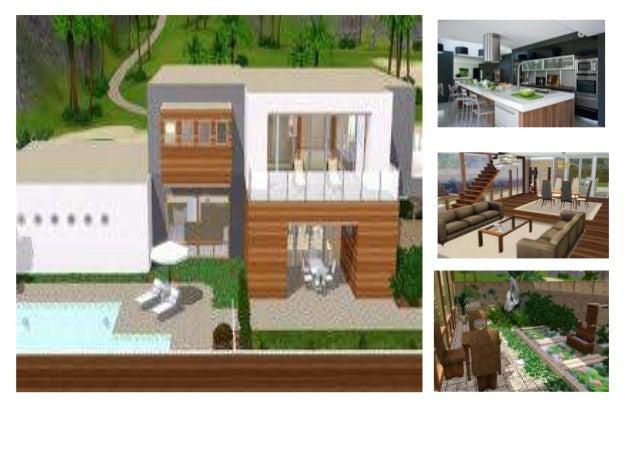 MA MAISON IDEAL.  Ma maison idéal c'est en Canada, près d'un parc sur la avenue avec beaucoup arbres. Cette maison est gra...