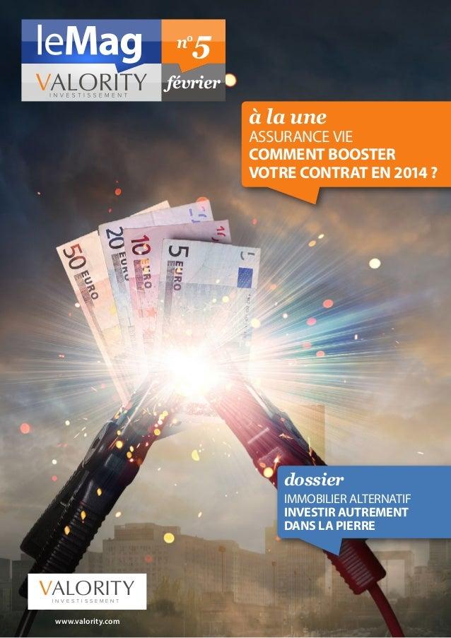 Le Mag de vos finances personnelles Fevrier 2014