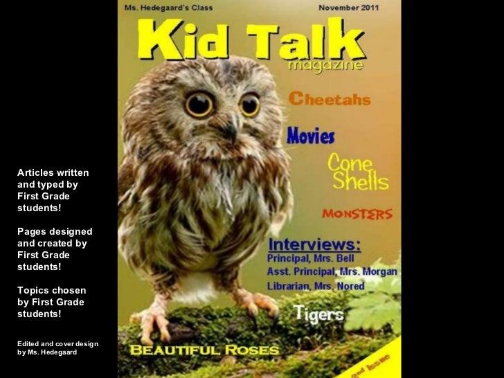Kid Talk Magazine - Issue 2
