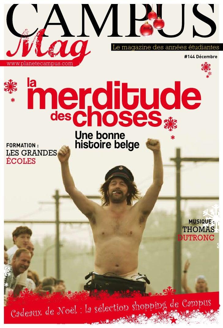 Le magazine des années étudiantes                                                           #144 Décembre www.planetecampu...