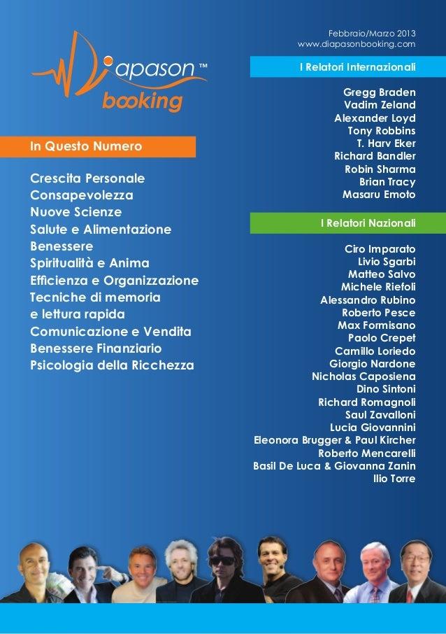 RICHARD ROMAGNOLI on Magazine Diapason Booking marzo_2013