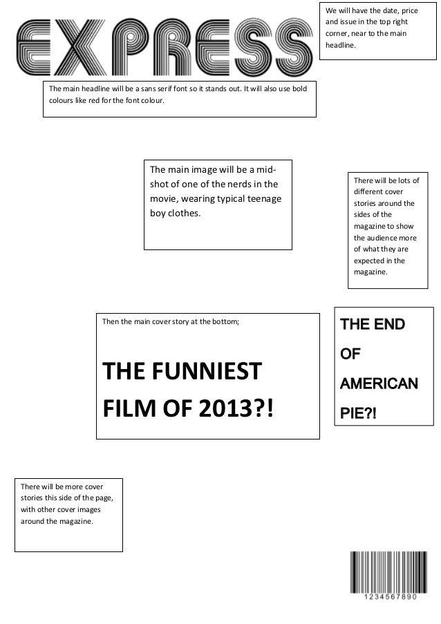 Magazine draft