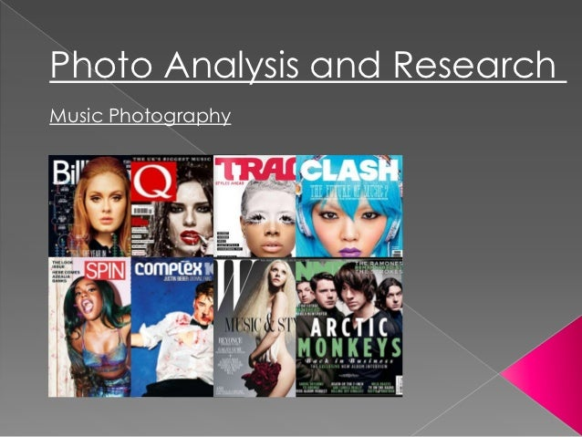 Magazine Photography Analysis and Research
