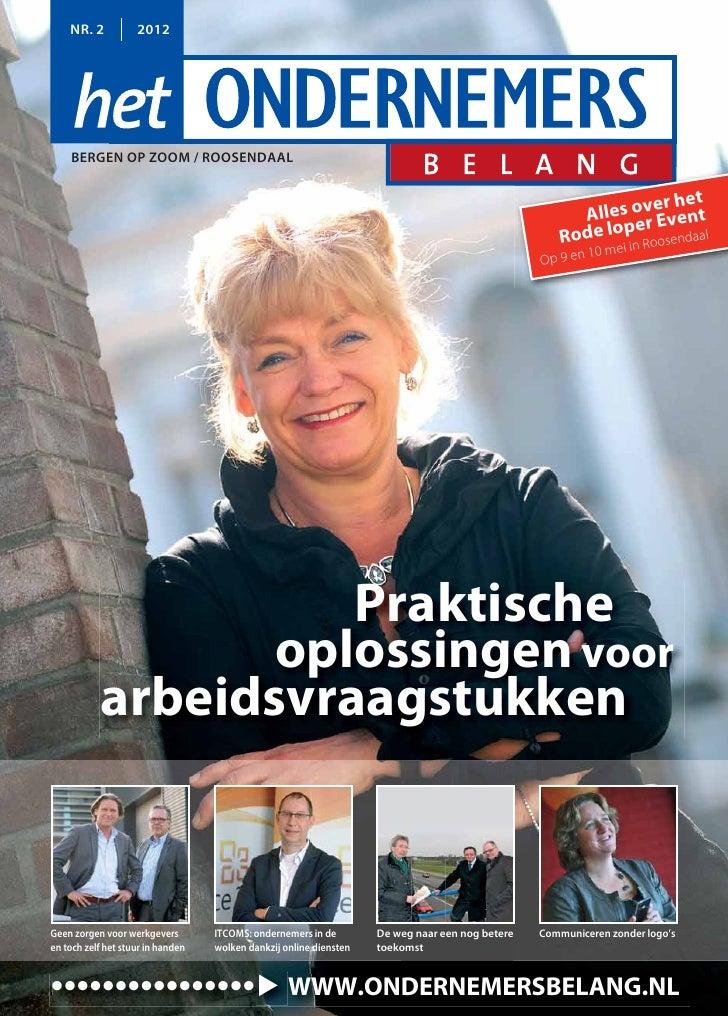 Magazine Het Ondernemersbelang Bergen op Zoom Roosendaal 0212