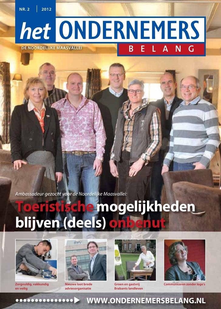 Magazine Het Ondernemersbelang de Noordelijke Maasvallei 0212