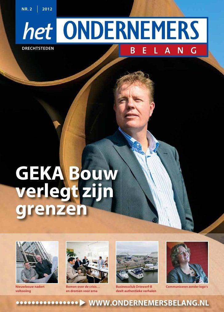 Magazine Het Ondernemersbelang Drechtsteden 0212