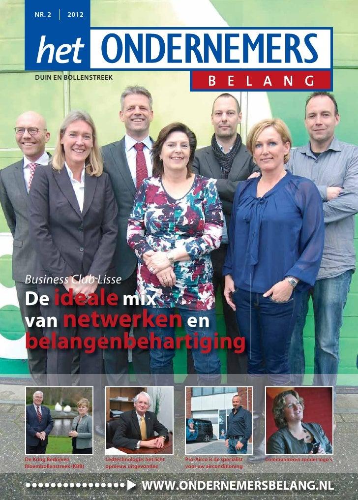Magazine Het Ondernemersbelang Duin en Bollenstreek 0212