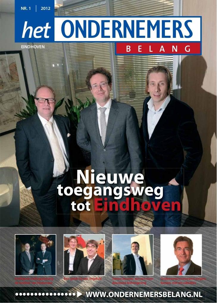 NR. 1          2012    EINDHOVEN                                         Nieuwe                                 toegangswe...