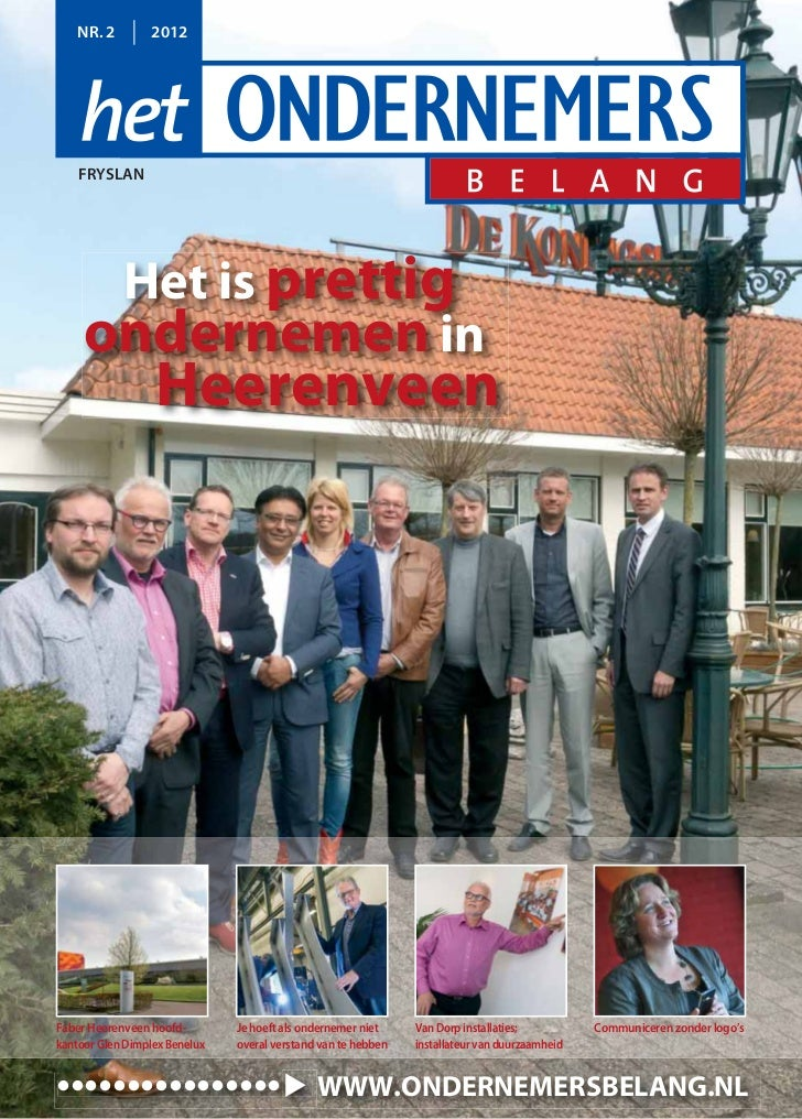 Magazine Het Ondernemersbelang Friesland 0212