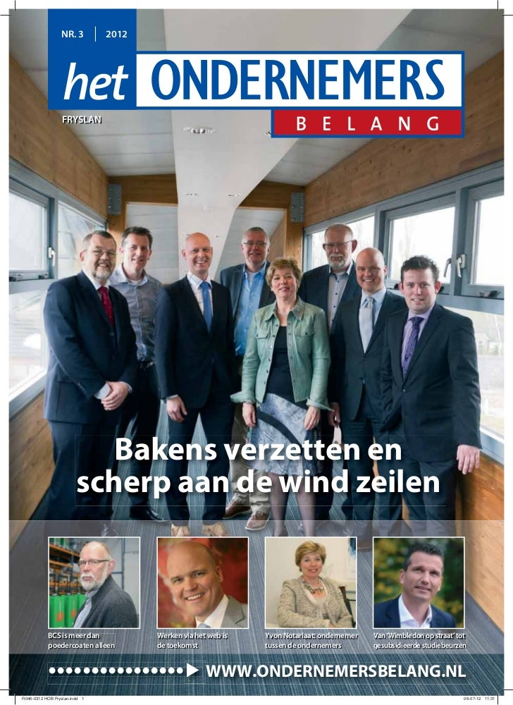 Magazine Het Ondernemersbelang Friesland 0312