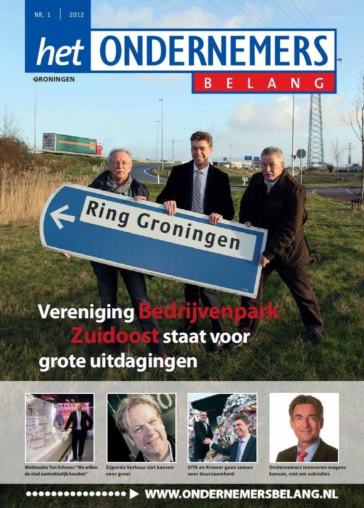 Magazine Het Ondernemersbelang Groningen 0112