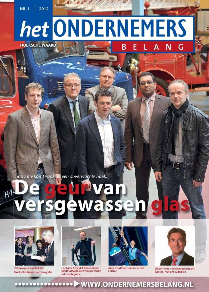Magazine het ondernemersbelang hoeksche waard 01 2012