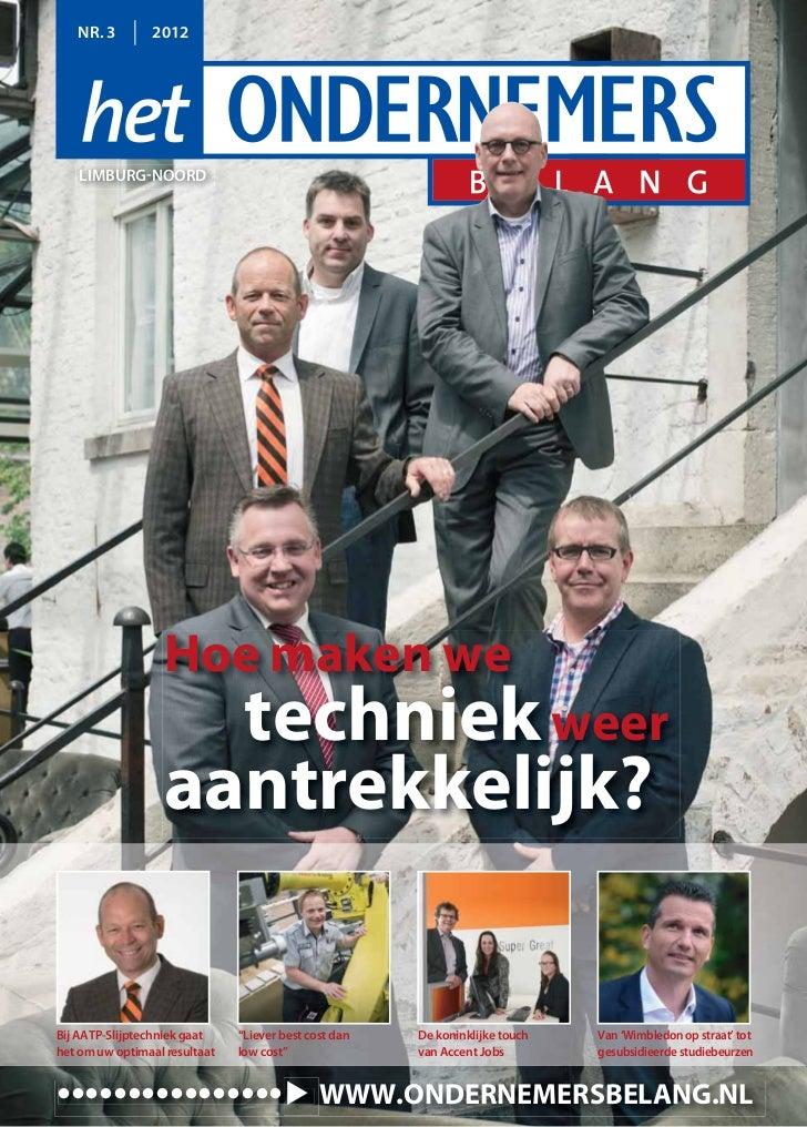 Magazine Het Ondernemersbelang Limburg Noord 0312